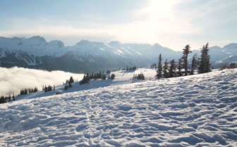 Ski Mountains in Whistler