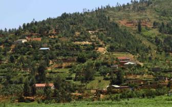 Countryside in Rwanda