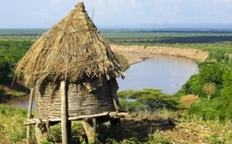 South Hamer Hut in Ethiopia