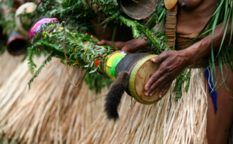 Drums in Papua New Guinea