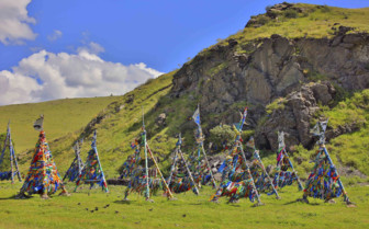 Prayer Flags in Mongolia