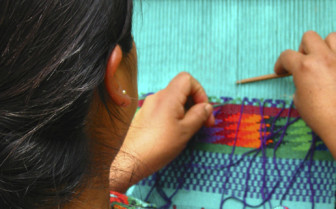 Weaving in Guatemala