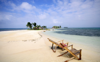 Deck Chairs on San Blas Island