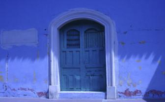 Colourful Door in Nicaragua