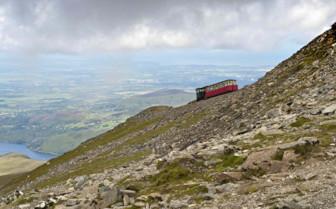 Steam Train in Snowdon