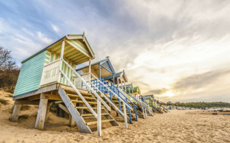 Beach Huts in Holkham