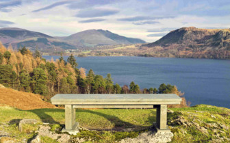 Bench in the Lake District