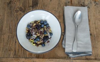 Cereal bowl at Deplar Farm