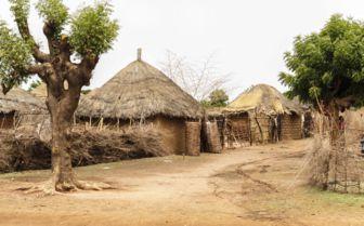 Rural village, Senegal