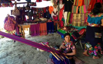 Weaving in Oaxaca