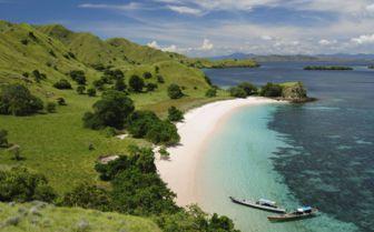 Beach in Komodo