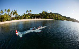 Submarine at Laucala Island