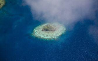 Desert Island near Laucala Island