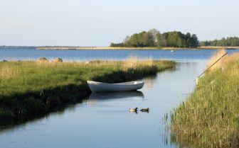 Padaste Manor on Muhu Island, Estonia