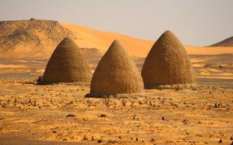 Dongola Pyramids, Sudan