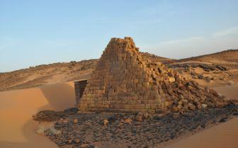 Sudan Pyramids, Meroe
