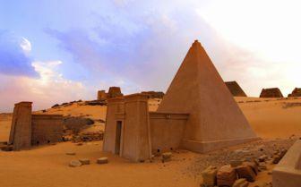 Pyramids of Meroe, Sudan