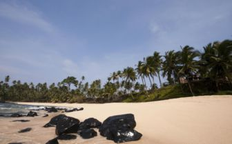 Beach in Sao Tome and Principe
