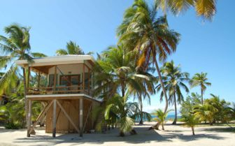 Beach villa on the Cayes