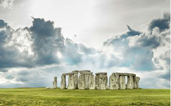 A view of Stonehenge