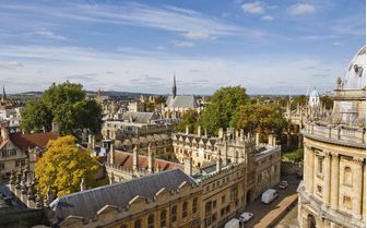 A cityscape of Oxford