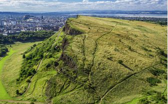 An image of the famous Arthurs Seat