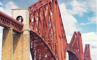 A view of the Forth Rail Bridge, Edinburgh