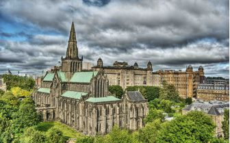 A picture of Glasgow cathedral