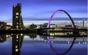 A view of Glasgow's skyline