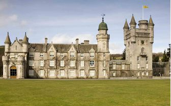 A picture of Balmoral Castle
