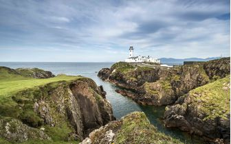 Fanad lighthouse in Donegal, Northern Ireland