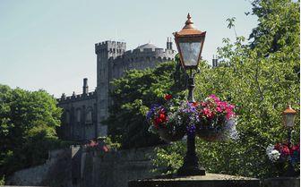 A view of Kilkenny Castle, Ireland