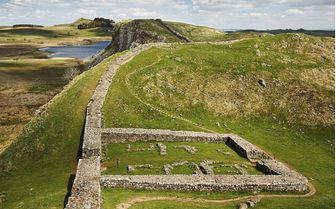 A picture of Milcastle, Hadrian's Wall
