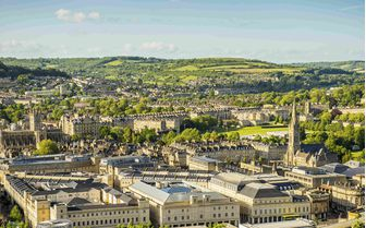 A view of the skyline of Bath