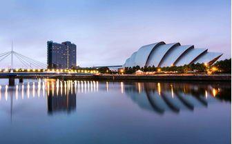 One of Glasgow's famous landmarks, Glasgow Bridge