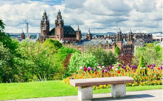 A view from one of Glasgow's parks