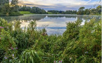 An image of a Cotswold lake