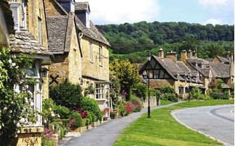 An image of Broadway in the Cotswold's