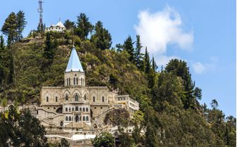 Santuario in Quito, Ecuador