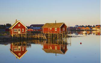 Northern Norway huts