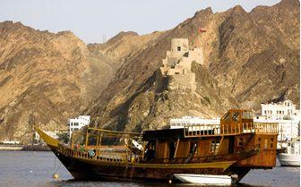 Oman boat