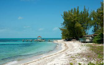 Abacos dock, Bahamas
