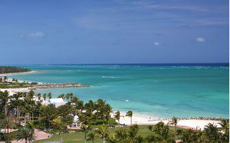 Beach in Grand Bahama
