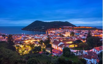 Azores by night