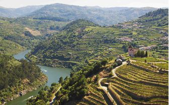 Aerial View of Portugal