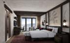 large bedroom at Alila Jabal Akhdar hotel