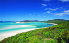 Picture of the beach in in the Whitsunday Islands in Australia