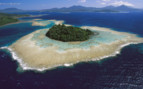 Picture of atoll in New Britain