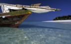 Picture of Boat in water Mnemba Island
