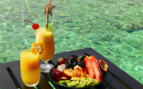 Fresh Fruit And Cocktails At The Water's Edge